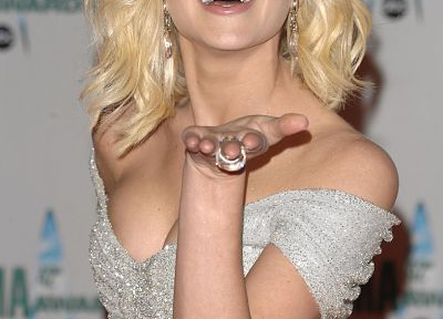 women, cleavage, Kellie Pickler - desktop wallpaper