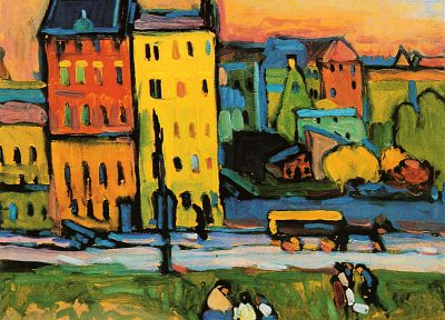 Wassily Kandinsky - desktop wallpaper