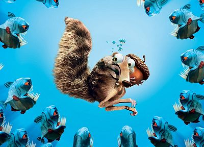 Ice Age, scrat - desktop wallpaper
