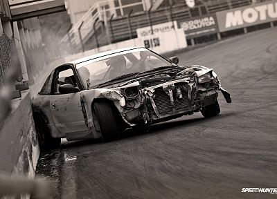 cars, drifting, Nissan 180SX - random desktop wallpaper