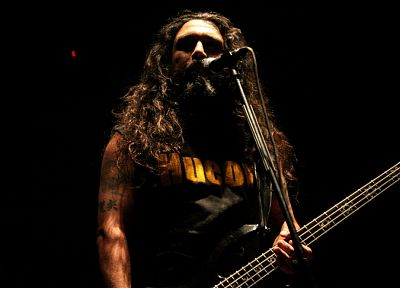 Slayer, Tom Araya - random desktop wallpaper