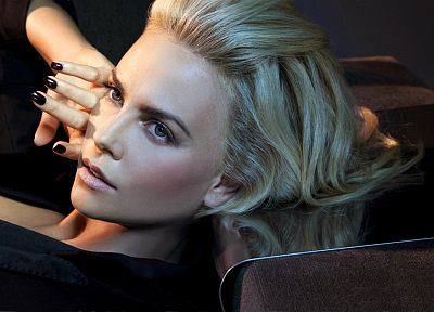 women, actress, models, Charlize Theron - random desktop wallpaper