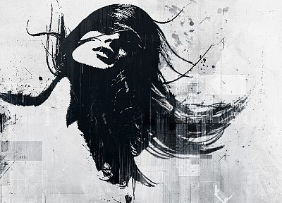 grunge, artwork, Alex Cherry - desktop wallpaper