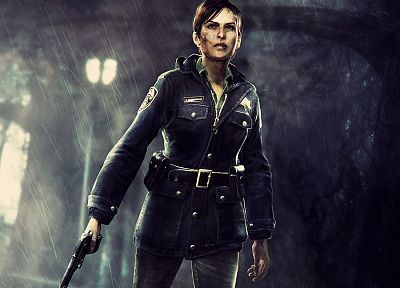 women, video games, Silent Hill - random desktop wallpaper