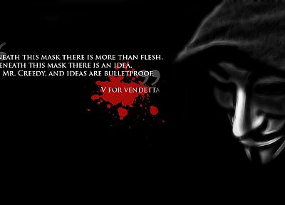 V for Vendetta - random desktop wallpaper