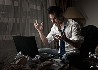 jeans, paper, couch, tie, men, rage, laptops, iPhone, watches, keys - desktop wallpaper