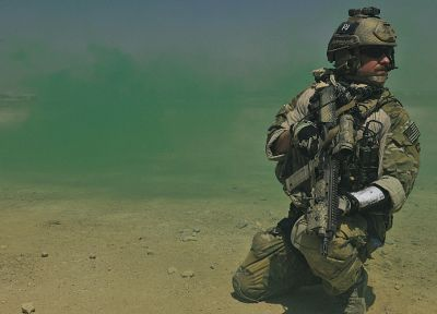United States Air Force, hk416, Pararescue, Elcan Optical Technologies, Multicam - random desktop wallpaper