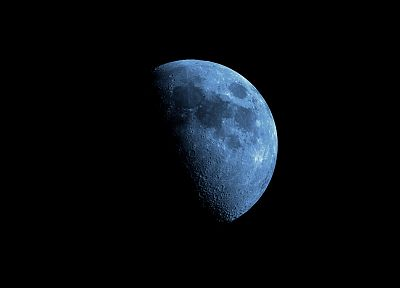 outer space, planets, Moon, black background - related desktop wallpaper