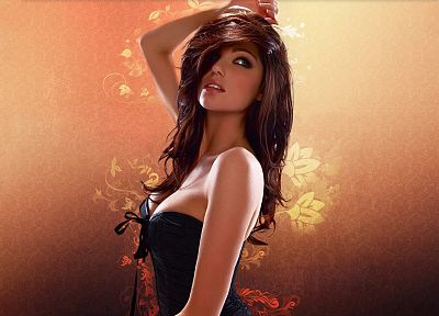 women, Louise Cliffe - random desktop wallpaper