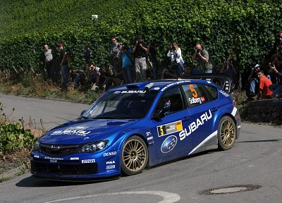 cars, rally, Subaru Impreza WRC, racing - random desktop wallpaper