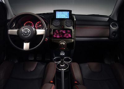 cars, Mazda, interior, vehicles - desktop wallpaper