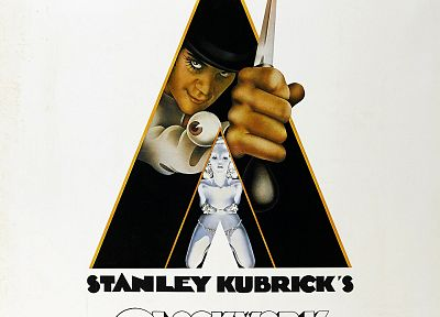 Stanley Kubrick, A Clockwork Orange - duplicate desktop wallpaper