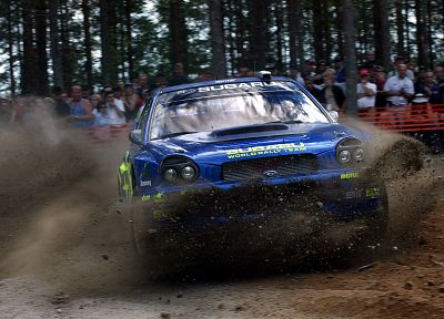 cars, rally cars, Subaru Impreza WRX STI - random desktop wallpaper