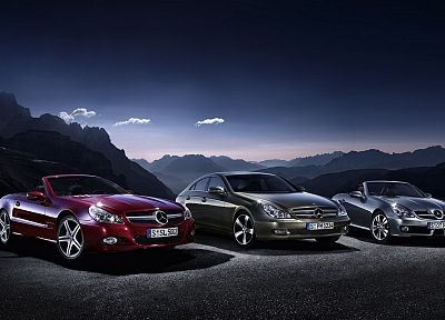 cars, Mercedes-Benz - random desktop wallpaper