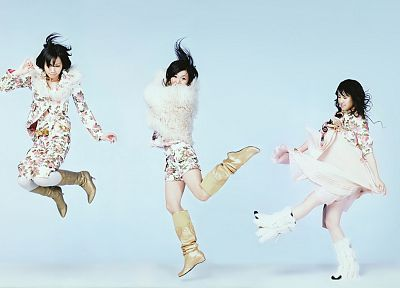 music, jpop, Perfume (band) - desktop wallpaper