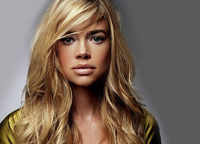 blondes, women, lips, Denise Richards - desktop wallpaper