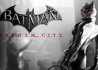 video games, Catwoman, Batman Arkham City - desktop wallpaper