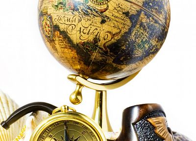 globes, compasses - random desktop wallpaper
