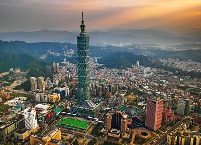 cityscapes, Taiwan, Taipei 101, cities - random desktop wallpaper