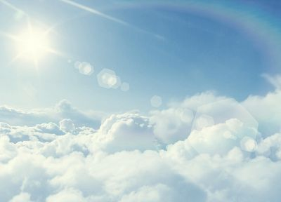 clouds, nature, Sun, skyscapes - random desktop wallpaper
