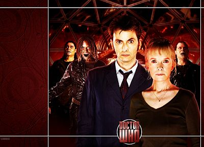 David Tennant, Doctor Who, Tenth Doctor - desktop wallpaper