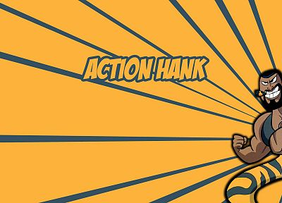 Cartoon Network, Dexters Laboratory, Action Hank - desktop wallpaper