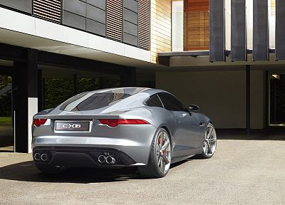 cars, Jaguar C-X16 Concept - random desktop wallpaper