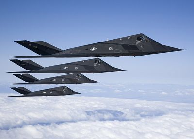 aircraft, United States Air Force, vehicles, jet aircraft, Lockheed F-117 Nighthawk - desktop wallpaper