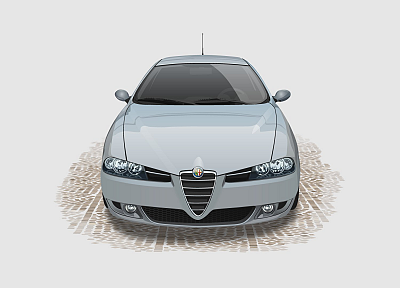 light, Alfa Romeo - random desktop wallpaper