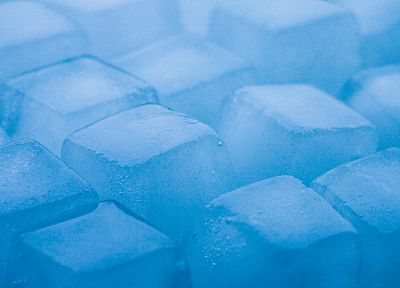 ice, cubes, digital art - random desktop wallpaper