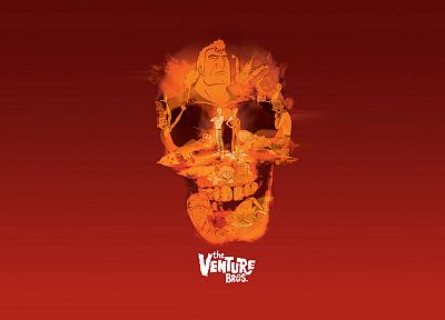 skulls, The Venture Bros., Hank Venture, Dean Venture, Brock Samson - desktop wallpaper
