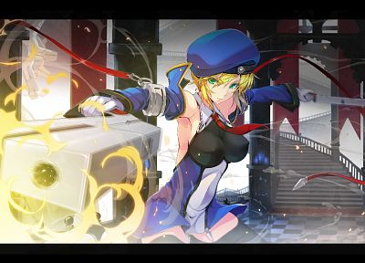 Blazblue, Noel Vermillion - random desktop wallpaper