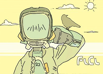FLCL Fooly Cooly - desktop wallpaper