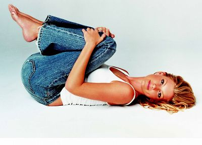 jeans, Faith Hill - random desktop wallpaper