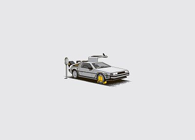 Back to the Future, DeLorean DMC-12 - desktop wallpaper