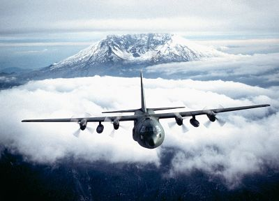 aircraft, C-130 Hercules - random desktop wallpaper
