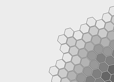 abstract, minimalistic, patterns, geometry, honeycomb - desktop wallpaper