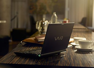 laptops, Sony VAIO - random desktop wallpaper