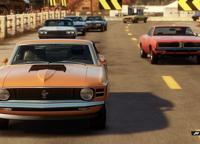 video games, cars, Ford Mustang, Xbox 360, Forza Horizon - random desktop wallpaper