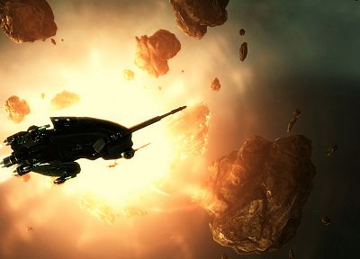 outer space, EVE Online, spaceships, vehicles - desktop wallpaper