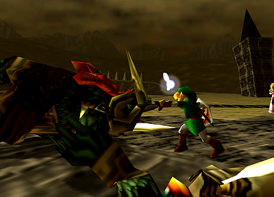 Link, Ganondorf, The Legend of Zelda - related desktop wallpaper