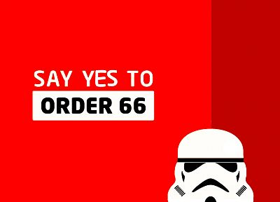 Star Wars, red, stormtroopers, funny, simple background - desktop wallpaper