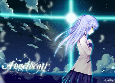 Angel Beats!, school uniforms, Tachibana Kanade, anime - related desktop wallpaper