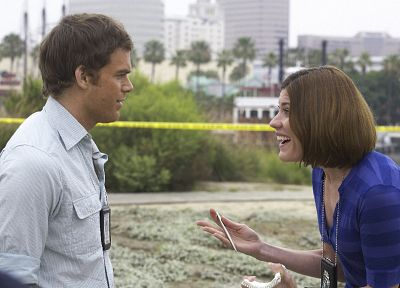 Dexter, Jennifer Carpenter, Michael C. Hall, Dexter Morgan, Debra Morgan - related desktop wallpaper