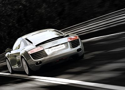 cars, vehicles, Audi R8, Quattro - random desktop wallpaper