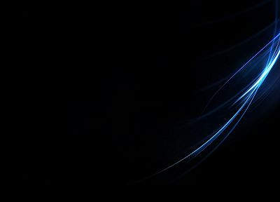 abstract, blue, black, minimalistic - desktop wallpaper