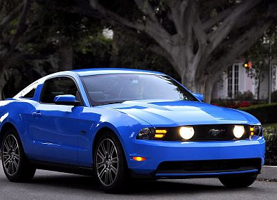 cars, Ford, vehicles, Ford Mustang, side view - related desktop wallpaper