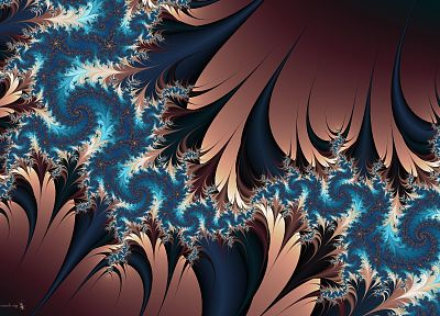 abstract, fractals - random desktop wallpaper