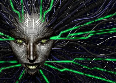 video games, shodan, System Shock 2 - random desktop wallpaper