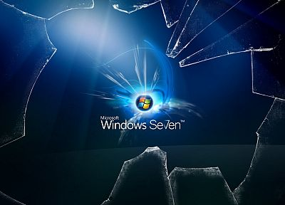 Windows 7, broken screen - random desktop wallpaper